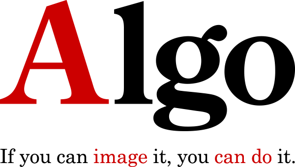 Algo - If you can image it, you can do it. -